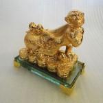K078M 2 150x150 Khỉ may mắn kéo túi vàng K078M