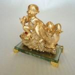 K081M 2 150x150 Khỉ tài lộc kéo túi vàng K081M