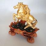 K083M 2 150x150 Khỉ tài lộc vàng cưỡi ngựa K083M
