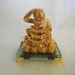 K088M 150x150 Khỉ vàng ôm tháp nguyên bảo K088M