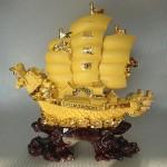 K095M 150x150 Thuyền rồng sa kim lớn K095M