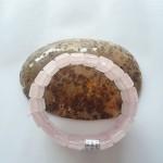 S6084.3 150x150 Chuỗi thạch anh hồng hạt dẹp lớn S6084