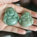 s6321 1 150x150 Phật Di Lạc ngọc phỉ thúy xanh đậm S6321
