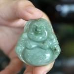 s6321 150x150 Phật Di Lạc ngọc phỉ thúy xanh đậm S6321