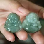 s6327 1 150x150 Phật Di Lạc ngọc Phỉ Thúy xanh đậm nhỏ S6327
