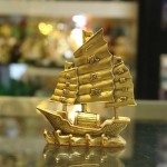 d238 150x150 Thuyền buồm đồng nhỏ D238