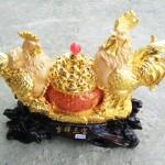 g002a gia dinh ga 2 150x150 Gia đình gà trên hũ vàng G002A