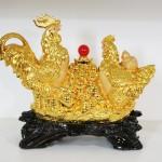 g003a gia dinh ga chau do 2 150x150 Gia đình gà trên hũ vàng nhỏ G003A