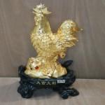 g033a ga long dong tien vang 150x150 Gà lông dát tiền vàng trên đá nhỏ G033A