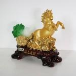 g105a ngua keo cai nho 1 150x150 Ngựa vàng kéo xe bắp cải xanh nhỏ G105A
