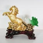 g105a ngua keo cai nho 2 150x150 Ngựa vàng kéo xe bắp cải xanh nhỏ G105A