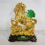 g106a ngua cong bap cai 150x150 Ngựa vàng cõng bắp cải gàu vàng trên túi vàng G106A