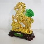 g106a ngua cong bap cai 2 150x150 Ngựa vàng cõng bắp cải gàu vàng trên túi vàng G106A