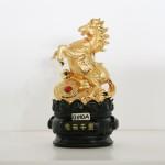g110a ngua vang 150x150 Ngựa ngọc vàng trên như ý vàng G110A