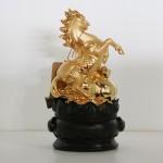 g110a ngua vang 2 150x150 Ngựa ngọc vàng trên như ý vàng G110A