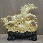 g114a ngua vang phi tren ho lo 1 150x150 Ngựa vàng phi nước trên hồ lô vàng G114A