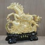 g114a ngua vang phi tren ho lo 2 150x150 Ngựa vàng phi nước trên hồ lô vàng G114A
