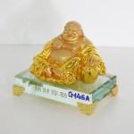 g146a di lac ngoi vang nho 2 150x150 Phật di lạc vịn nén kim bảo lớn G146A