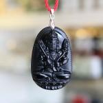 s6340 2.2 phat hu khong tang 150x150 Phật bản mệnh đá hắc ngà   Sửu, Dần ( Hư Không Tạng ) S6340 2