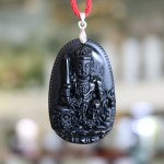 s6340 3.2 phat van thu bo tat 150x150 Phật bản mệnh đá hắc ngà   Mão ( Văn Thù Bồ Tát ) S6340 3