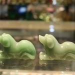 Cho dong linh GM169 2 150x150 Tượng chó đông linh xanh ngọc GM169