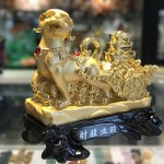 CHO VANG KEO XE VANG C023A 2.JPG 150x150 Chó vàng kéo xe vàng tài vượng C023A