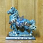 c107a ngua xanh kieu co 150x150 Ngựa kiểu cổ xanh xám C107A