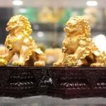 c125a cap su tu vang 1 150x150 Sư tử vàng đế gỗ C125A