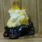 c131a di lac luu ly 1 150x150 Phật di lạc vàng cam ngồi trên núi tiền C131A