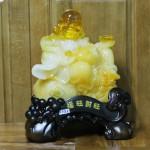 c131a di lac luu ly 150x150 Phật di lạc vàng cam ngồi trên núi tiền C131A