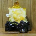 c131a di lac luu ly 2 150x150 Phật di lạc vàng cam ngồi trên núi tiền C131A