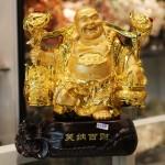 c133a di lac quay ganh 150x150 Phật di lạc vàng gánh cây như ý C133A