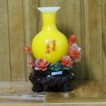 c172a binh vang hoa mau don 150x150 Bình ngọc vàng trên hoa mẫu đơn C172A