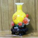 c172a binh vang hoa mau don 2 150x150 Bình ngọc vàng trên hoa mẫu đơn C172A
