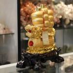 c186a thuyen buom rong vang 21 150x150 Thuyền buồm rồng vàng trên sóng vàng C186A
