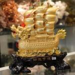 c186a thuyen buom rong vang1 150x150 Thuyền buồm rồng vàng trên sóng vàng C186A