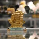c192a thuyen rong nho 150x150 Thuyền buồm vàng đế thuỷ tinh C192A