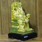 c206a than voi 1 150x150 Phật đầu voi vàng lớn ngồi trên ngai vàng C206A