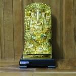 c206a than voi 150x150 Phật đầu voi vàng lớn ngồi trên ngai vàng C206A
