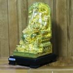 c206a than voi 2 150x150 Phật đầu voi vàng lớn ngồi trên ngai vàng C206A