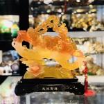 IMG 1719 150x150 Long phụng lưu ly vàng cam trên gậy như ý C072A