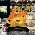 IMG 1720 150x150 Long phụng lưu ly vàng cam trên gậy như ý C072A