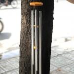 Chuông gió 6 ống ( màu trắng)   CG1227