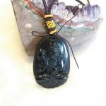 Dai the chi bo tat S6844 5.4 150x150 Phật bản mệnh đá hắc ngà – Ngọ ( Đại Thế Chí Bồ Tát ) S6844 5