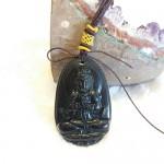 Nhu lai dai nhat S6844 6.1 150x150 Phật bản mệnh đá hắc ngà – Mùi, Thân ( Như Lai Đại Nhật ) S6844 6