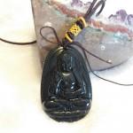 Phat a di da S6844 8.4 150x150 Phật bản mệnh đá hắc ngà – Tuất, Hợi ( Phật A di đà ) S6844 8