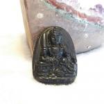 Van thu su loi bo tat S6844 3.2 150x150 Phật bản mệnh đá hắc ngà – Mão ( Văn Thù Bồ Tát ) S6844 3