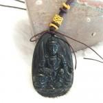 Van thu su loi bo tat S6844 3.3 150x150 Phật bản mệnh đá hắc ngà – Mão ( Văn Thù Bồ Tát ) S6844 3