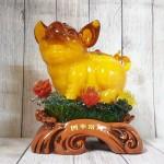ln015 vua heo vang cam mau don 2.jpg 150x150 Vua heo vàng cam trên mây mẫu đơn LN015