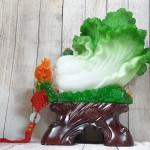 ln064 bap cai xanh khung mau don 1.jpg 150x150 Bắp cải xanh khủng trên bụi mẫu đơn đế gỗ LN064